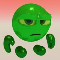 3D sour bill wreck-it ralph
