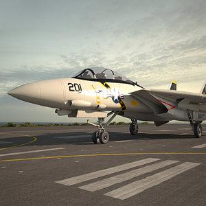 f-14 f 14 3D model