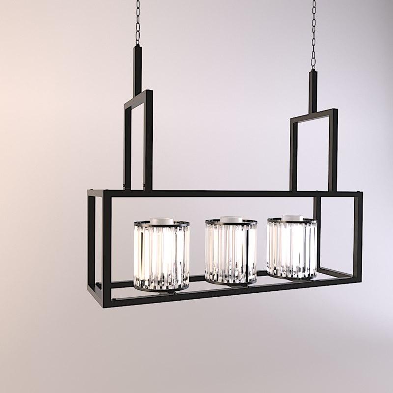 chandelier carducci 3D
