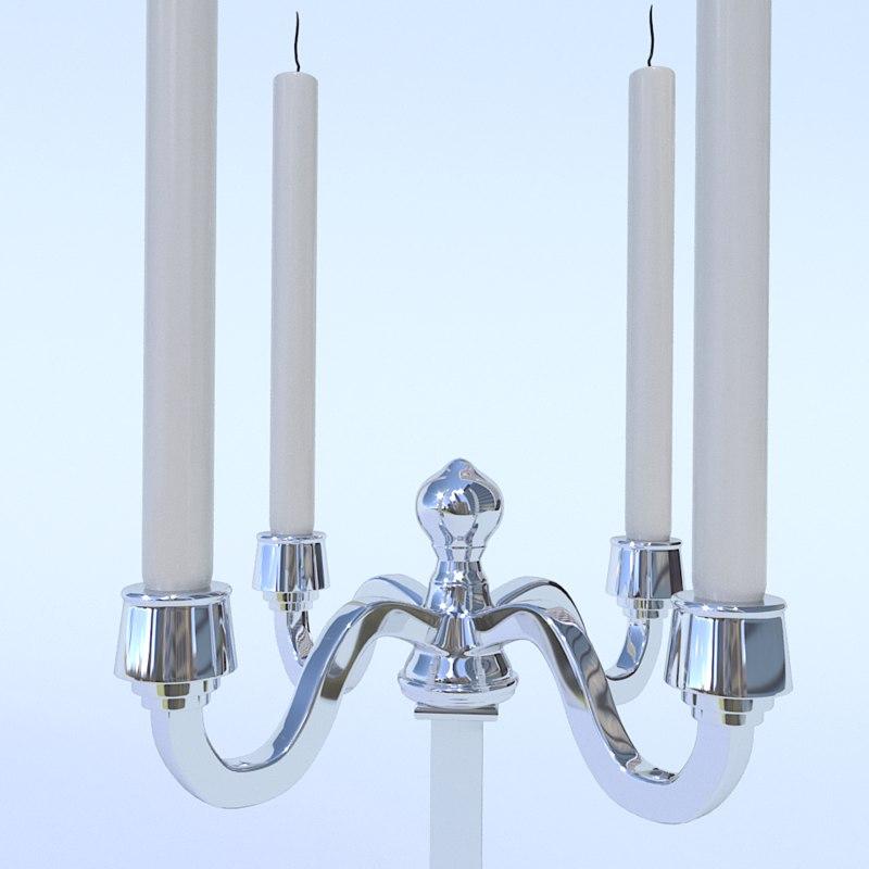 candle holder dominique 3D model