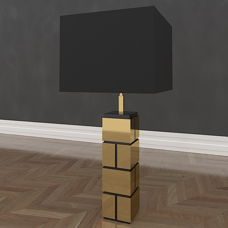 3D table lamp reynaud