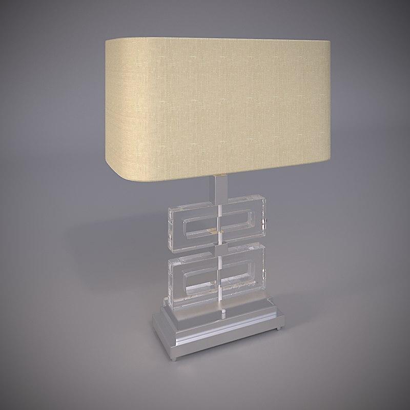 table lamp umbria 3D model