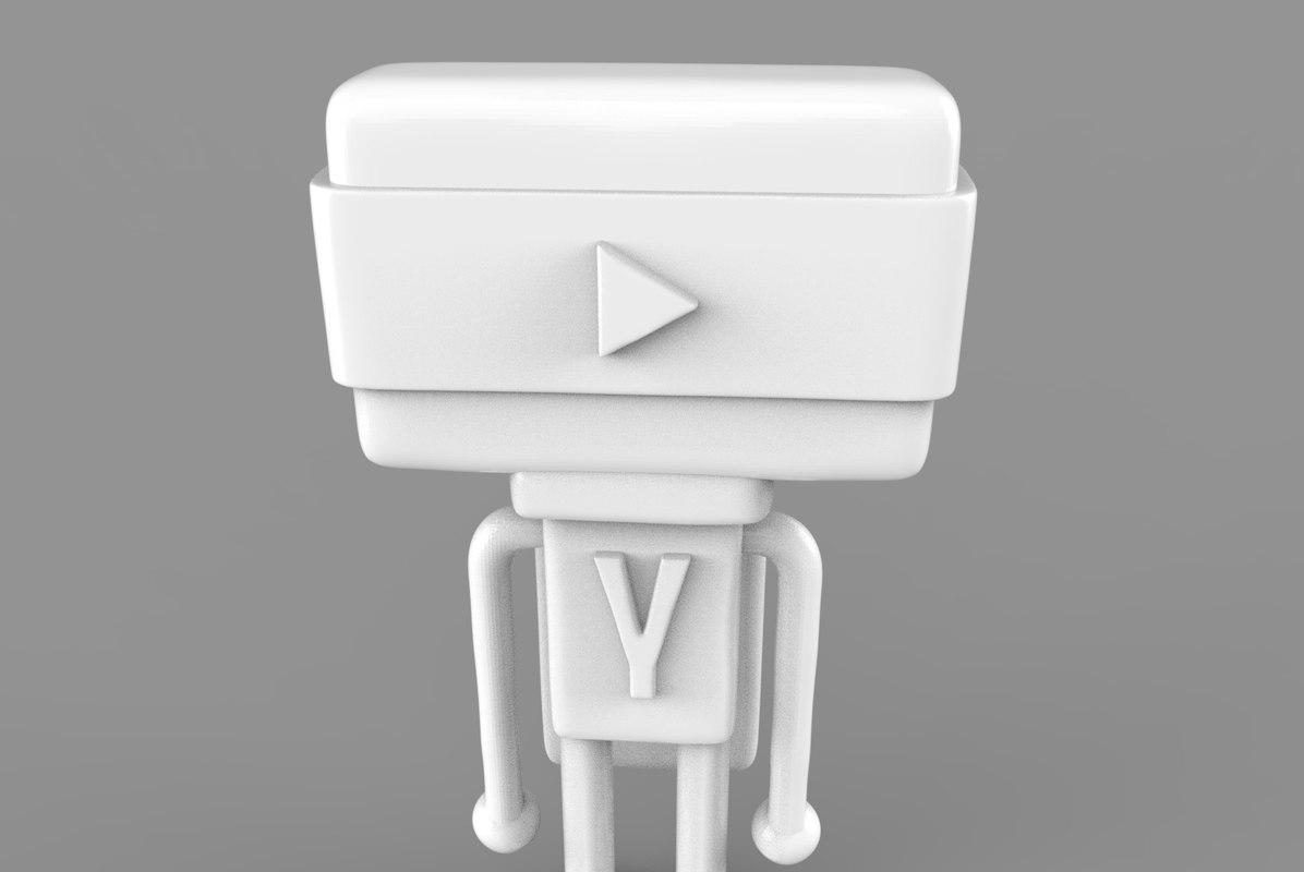 3D hero model