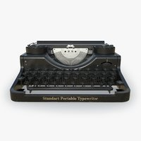 Retro typewritter