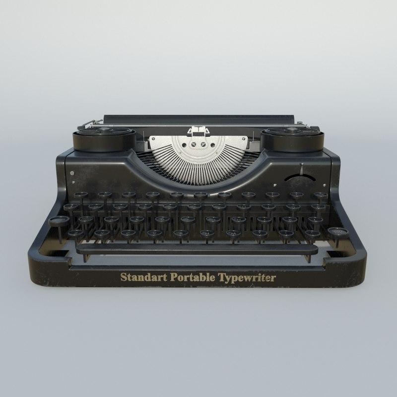 3D type retro model