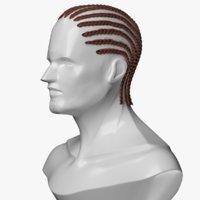Hair Style for Man Braid Rows