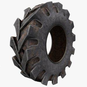 3D truck tire