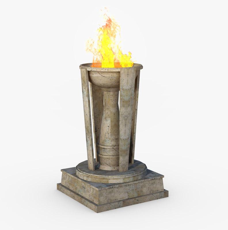 torch pilar 3D