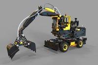 loader lego 3D model