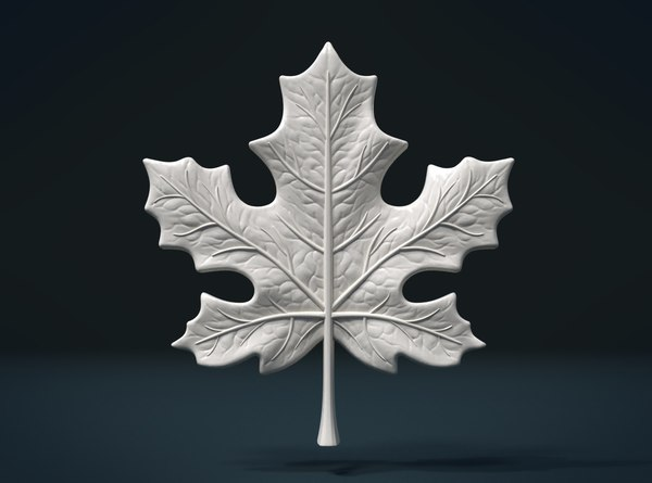 maple leaf 3D model