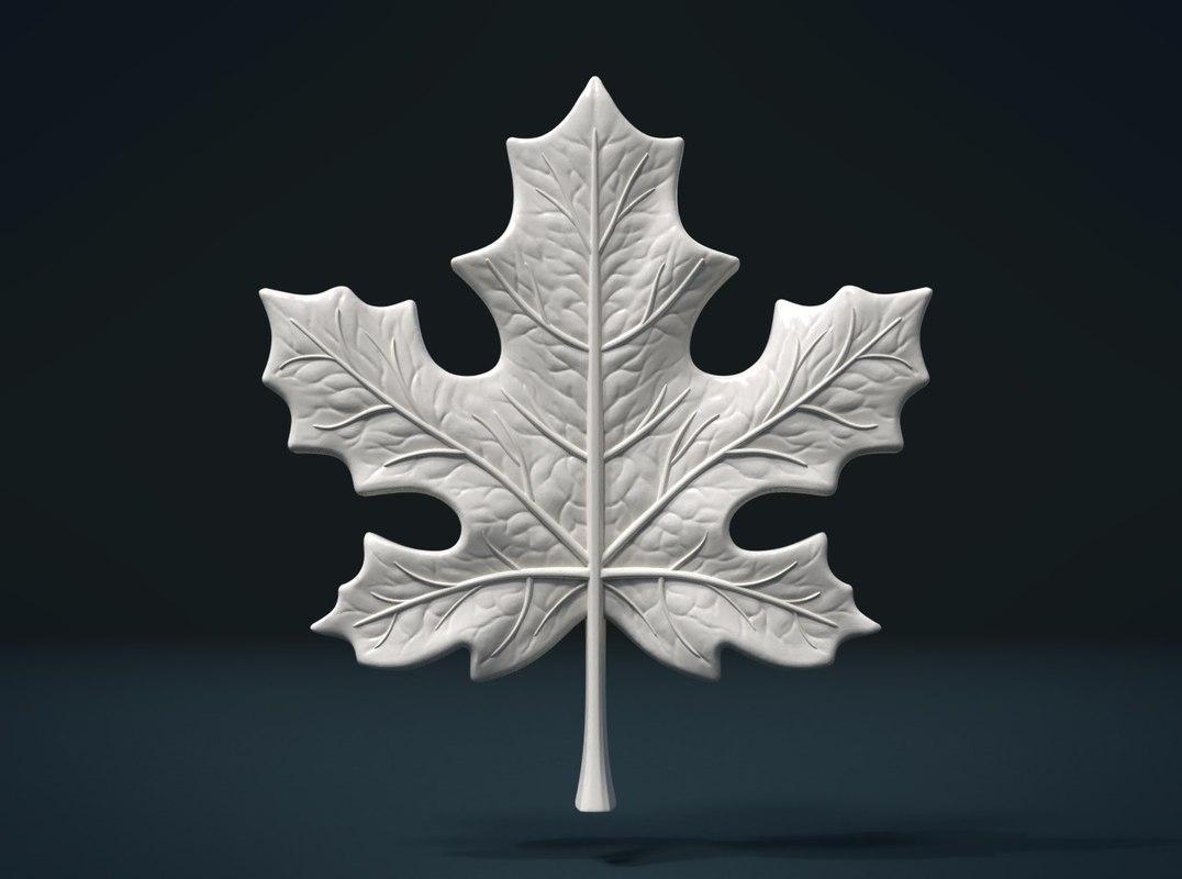 maple leaf 3D model