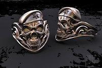 skull soldier ring