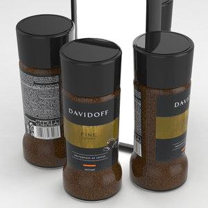cafe coffe 3D
