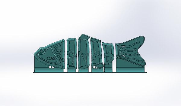 3D fishing lure