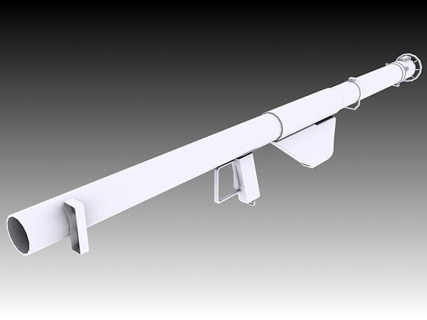 m1a1 bazooka 3D