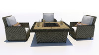 3D patio furniture