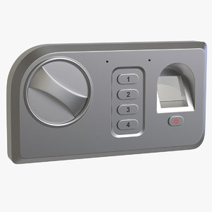 3D biometric lock model