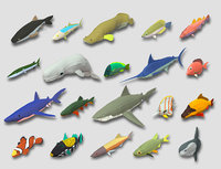 3D fish cartoon games