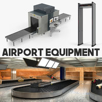 airport equipment 3D model
