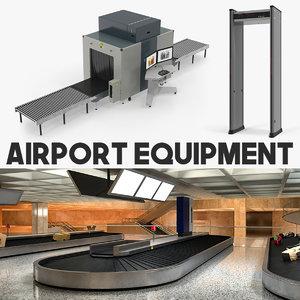 airport equipment 3D model