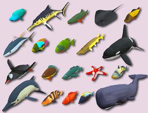 3D fish cartoon games