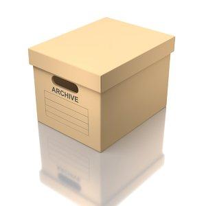 box storage 3D
