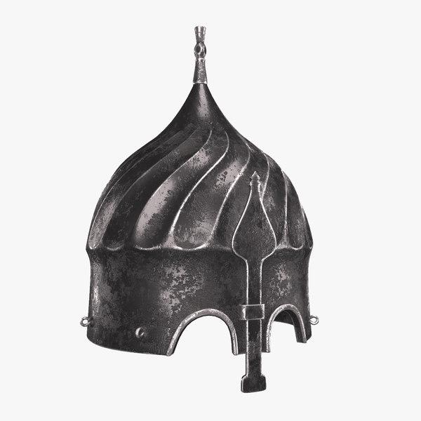 ottoman turban helmet model