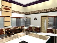 3D jewellery showroom