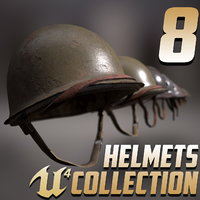 8 Helmets Collection