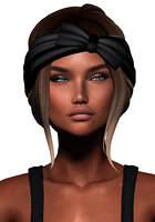 3D hairstyle second life