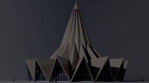 church saint antonio 3D model