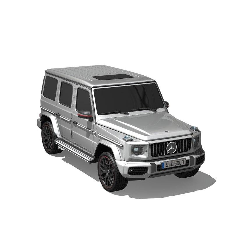 g amg 3D model