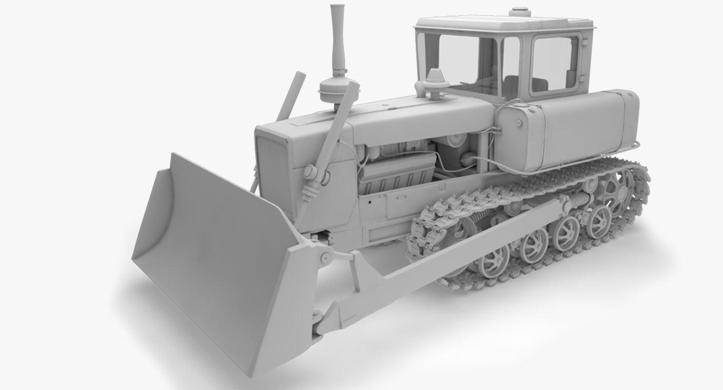 3D dt-75 - soviet ttractor