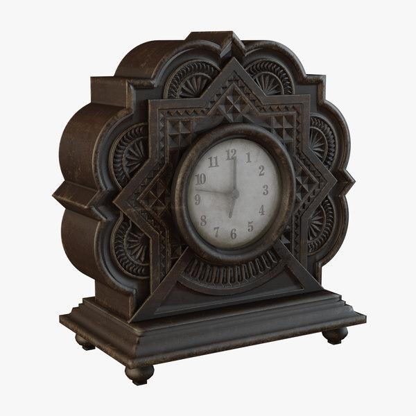 clock design 3D