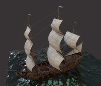 Sailboat Galleon