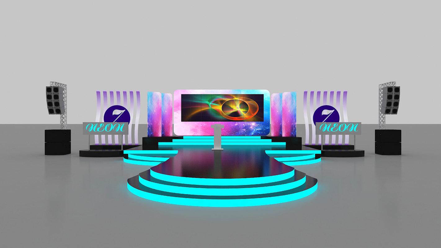 stage design model