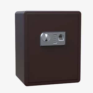 3D safe biometric box