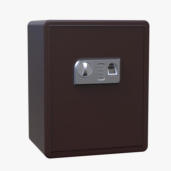 3D safe biometric box