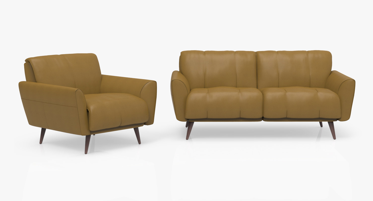 3D arno sofa chair model