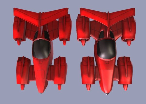 mini spaceship spacecraft 3D