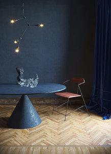 classy interior scene model