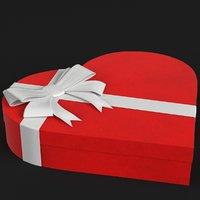3D closed gift box