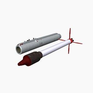 3D s25ofm rocket o25l launcher