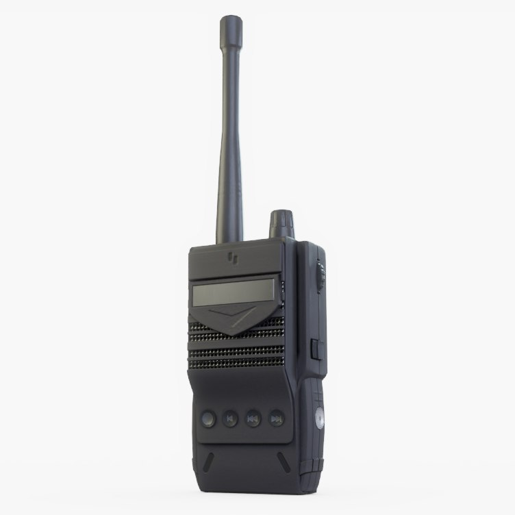 radio walkie talkie 3D model