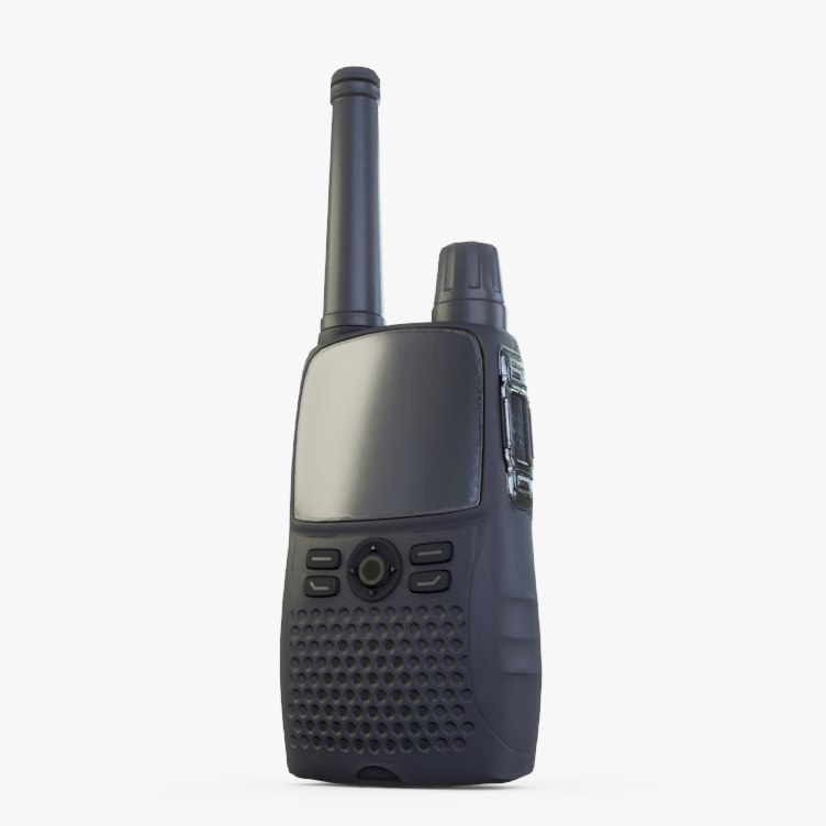 3D model walkie talkie