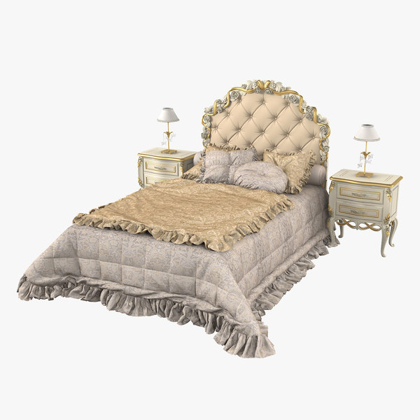 savio firmino bedroom set 3D model