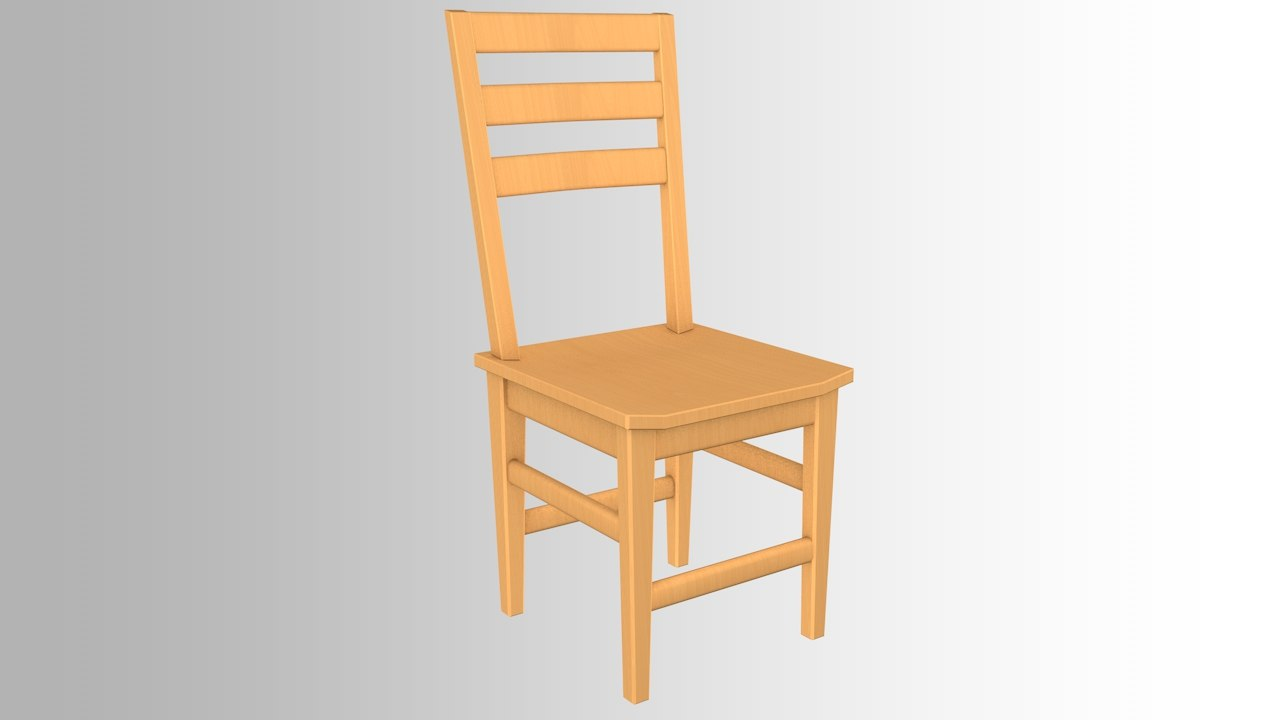 chair use 3D