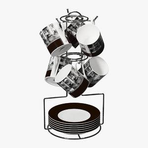 coffee set model