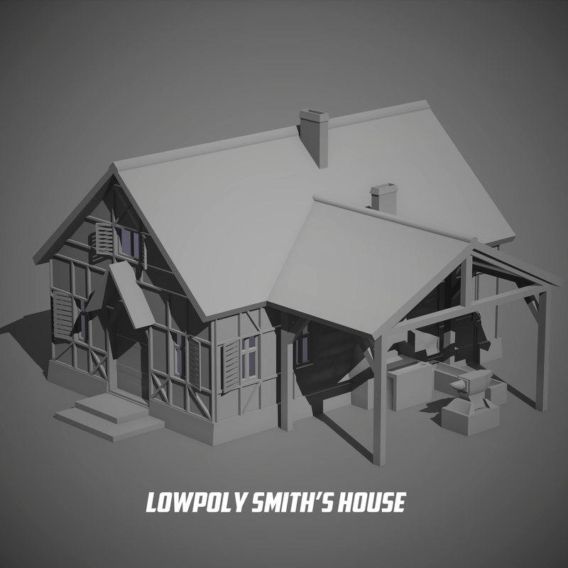 blacksmith s house 3D