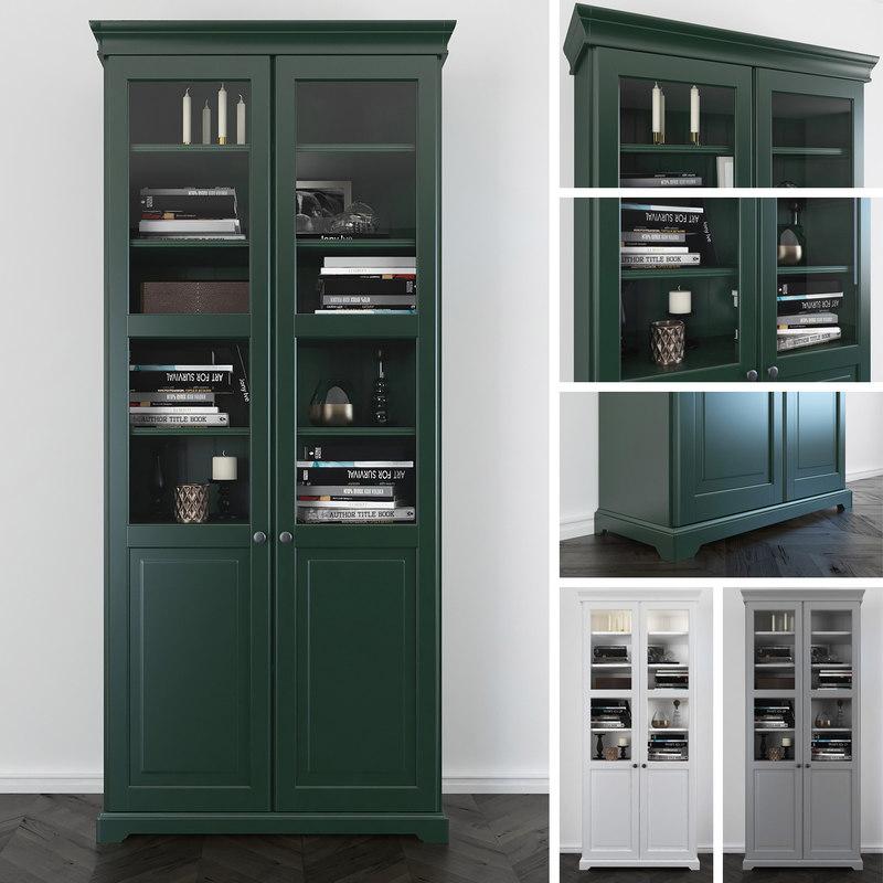 3d bookcase liatorp